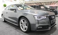 USED 2014 64 AUDI A5 2.0 TDI S LINE S/S 2d 177 BHP **NAVIGATION+HEATED LEATHER**
