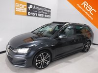 USED 2015 65 VOLKSWAGEN GOLF 2.0 GTD TDI DSG 5d AUTO 182 BHP STUNNING AND VERY WELL LOOKED AFTER SPORTS HATCH LATEST MODEL FINISHED IN GLEAMING GRAY METALLIC WITH A FULL GLASS ROOF AND FINISHED OFF WITH A SET OF UPGRADED ALLOYS, SAT NAV, CRUSE CONTROL, ELEC  MIRRORS, DUAL CLIMATE CONTROL, BLUETOOTH , KEY LESS GO AND MUCH MUCH MORE      for more Information Please Call Now on 0151525 4400,  07967141248. Family Run Business Since 1990