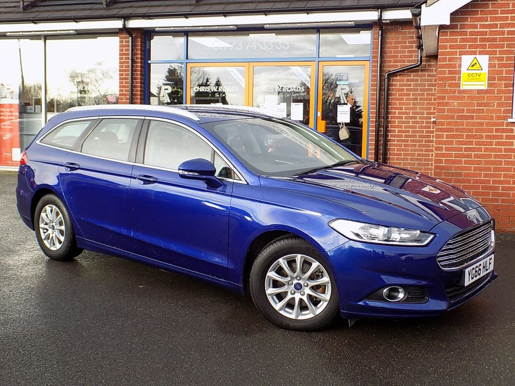 USED 2016 66 FORD MONDEO 2.0 TDCi ECONETIC ZETEC NAV 5dr (150) ** Sat Nav + BlueTooth + Cruise **