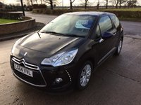 2014 CITROEN DS3 1.2 DSIGN PLUS 3d 82 BHP £5995.00