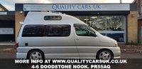USED 2001 Y TOYOTA GRANVIA/REGIUS 3.0 Diesel TOURING HIGHTOP NEW ONE OFF CONVERSION. FINANCE AVAILABLE!