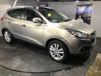 USED 2010 10 HYUNDAI IX35 2.0 PREMIUM CRDI 2WD 5d 134 BHP Panoramic sunroof   :   Bluetooth   :   Part leather upholstery   :   Heated front/rear seats   :   Rear parking sensors   :  Full service history