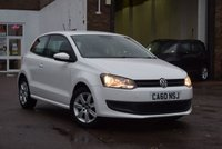 USED 2011 60 VOLKSWAGEN POLO 1.4 SE DSG 3d 85 BHP A well maintained low mileage 2011 Vw Polo 1.4 SE 85 3dr DSG AUTOMATIC in white with just 28000 miles. 2 private keepers from new with 8 stamps in the service book (last serviced at 27480 miles on 19/7/18) and 2 keys.