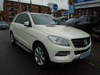 USED 2013 62 MERCEDES-BENZ M CLASS 2.1 ML250 BLUETEC SPECIAL EDITION 5d AUTO 204 BHP