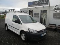 USED 2011 11 VOLKSWAGEN CADDY 1.6 C20 TDI 102 5d 101 BHP