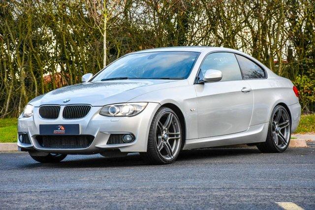 2011 BMW 3 SERIES 2.0 320D M SPORT 2d AUTO 181 BHP