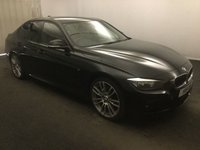 USED 2013 H BMW 3 SERIES 2.0 320D M SPORT 4d AUTO 181 BHP AMAZING CAR WITH AMAZING SPEC, FINISHED IN GLEAMING BLACK FULL SERVICE HISTORY  ,THIS CAR IS A GREAT EXAMPLE OF A PRESTIGE SALOON, THIS CAR COMES WITH SOME GREAT SPEC, BLUETOOTH PHONE AND MUSIC PREP, AUX AND USB POINTS, SPORTS /ECO MODES, MULTI FUNCTION LEATHER CLAD STEERING WHEEL, STOP START, PRIVACY GLASS,18INCH BRAND NEW ALLOYS AT Additional cost, DAB CD RADIO, ELEC MIRRORS, ELEC WINDOWS