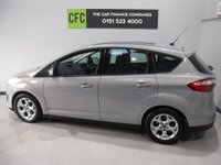 USED 2013 13 FORD C-MAX 1.6 ZETEC TDCI 5d 114 BHP 1 OWNER WITH FULL SERVICE HISTORY 5 STAMPS  FINISHED IN GLEAMING SILVER  METALLIC GREAT FAMILY CAR WITH SEVEN SEATS AND REAR TABLES, FRONT FOG LAMPS, BRUSHED ALLOY ROOF RAILS,VOICE COMMAND BLUETOOTH PHONE PREP, MULTI FUNCTION STEERING WHEEL, AUX USB, ELEC MIRRORS, ELEC FRONT AND REAR WINDOWS, ICE COLD AIR CON