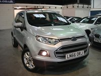 USED 2016 66 FORD ECOSPORT 1.5 ZETEC 5d AUTO 110 BHP ANY PART EXCHANGE WELCOME, COUNTRY WIDE DELIVERY ARRANGED, HUGE SPEC
