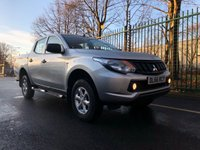 USED 2017 66 MITSUBISHI L200 2.4 DI-D 4X4 4LIFE DCB 1d 151 BHP All Vehicles with minimum 6 months Warranty, Van Ninja Health Check and cannot be beaten on price!