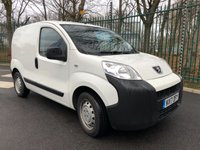 USED 2017 17 PEUGEOT BIPPER 1.2 HDI S 1d 79 BHP All Vehicles with minimum 6 months Warranty, Van Ninja Health Check and cannot be beaten on price!