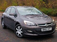 2012 VAUXHALL ASTRA 1.4 EXCLUSIV 5d 98 BHP £4295.00