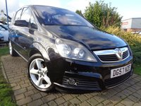 USED 2007 57 VAUXHALL ZAFIRA 1.8 SRI 16V 5d 140 BHP **Clean Example 7 Seats With Service History 12 Months Mot**