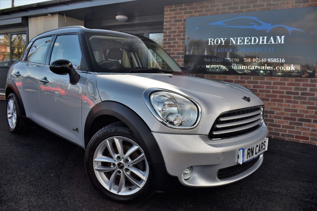 USED 2013 13 MINI COUNTRYMAN 1.6 COOPER D ALL 4 5DR 112 BHP ***CRUISE - B/TOOTH - 1/2 LEATHER - SENSORS***