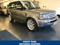 USED 2008 58 LAND ROVER RANGE ROVER SPORT 4.2 V8 SPORT HSE 5d AUTO 385 BHP PREMIUM NAVIGATION SYSTEM, FRONT AND REAR PARK DISTANCE CONTROL