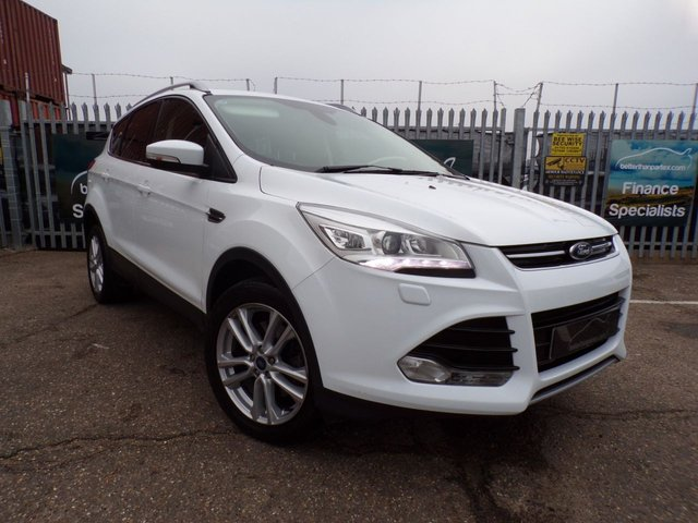 2014 64 FORD KUGA 2.0 TITANIUM X TDCI 5d 160 BHP 1 OWNER SAT NAV LEATHER