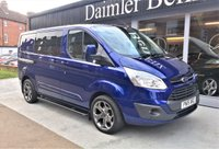 2015 FORD TRANSIT CUSTOM 2.2 290 LIMITED LR DCB 1d 153 BHP £13995.00