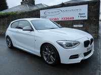 USED 2014 14 BMW 1 SERIES 3.0 M135I 3d 316 BHP RED LEATHER+SATELLITE NAVIGATION