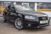 USED 2012 12 AUDI A3 1.6 TDI S LINE 5d 103 BHP COMES WITH 6 MONTHS WARRANTY