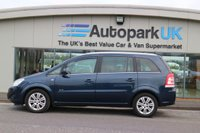 USED 2011 61 VAUXHALL ZAFIRA 1.7 ELITE CDTI ECOFLEX 5d 108 BHP LOW DEPOSIT OR NO DEPOSIT FINANCE AVAILABLE