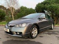 USED 2010 E HONDA CIVIC 1.3 IMA ES 4d AUTO 115 BHP HYBRID,AUTOMATIC,LEATHER INTERIOR, FULL HONDA SERVICE HISTORY, EXCEPTIONAL CONDITION,