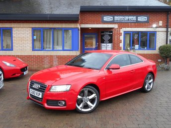 2011 AUDI A5 2.0 TFSI S LINE SPECIAL EDITION 2d 178 BHP £9790.00