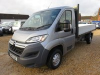 2015 CITROEN RELAY 2.2 35 L3 DROPSIDE HDI 130 BHP ONLY 10,919 MILES £12495.00