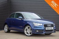 USED 2014 64 AUDI A1 1.4 TFSI S LINE 3d AUTO 122 BHP £0 DEPOSIT BUY NOW PAY LATER - FULL SERVICE HISTORY