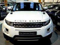 2011 LAND ROVER RANGE ROVER EVOQUE 2.2 SD4 PURE 3d 190 BHP