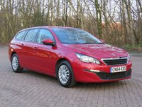 USED 2014 64 PEUGEOT 308 1.6 HDI SW ACCESS 5d 92 BHP