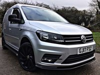 USED 2017 17 VOLKSWAGEN CADDY 2.0 C20 TDI HIGHLINE 1d 101 BHP HIGH SPEC, EURO 6 VERY HIGH SPEC, EURO 6,