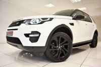 USED 2016 66 LAND ROVER DISCOVERY SPORT 2.0 TD4 HSE BLACK AUTOMATIC 180 BHP
