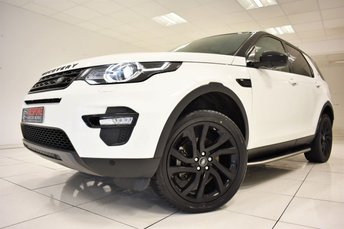 2016 LAND ROVER DISCOVERY SPORT 2.0 TD4 HSE BLACK AUTOMATIC 180 BHP £31250.00