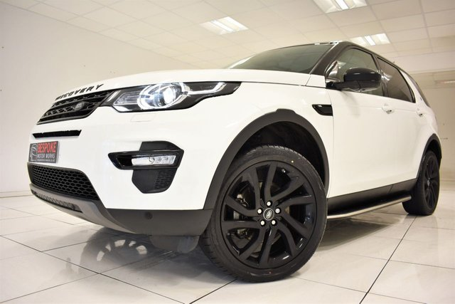 2016 66 LAND ROVER DISCOVERY SPORT 2.0 TD4 HSE BLACK AUTOMATIC 180 BHP