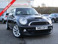 USED 2014 63 MINI HATCH COOPER 1.6 COOPER S 3d 184 BHP