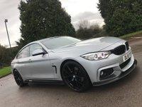 2016 BMW 4 SERIES 3.0 430D M SPORT GRAN COUPE 4d AUTO 255 BHP £21990.00