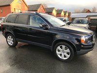 USED 2011 11 VOLVO XC90 2.4 D5 SE AWD 5d AUTO 197 BHP Family 7-Seater  :  Bluetooth :  Full leather upholstery      :      Heated front seats      :      Electric/Memory driver's seat    :  Rear parking sensors : Full Volvo service history
