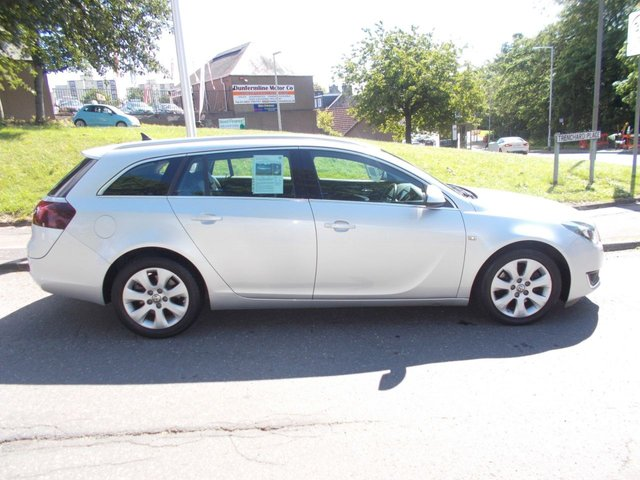 USED 2014 14 VAUXHALL INSIGNIA 2.0 TECH LINE CDTI ECOFLEX S/S 5d 138 BHP ++LOW MILEAGE DIESEL WITH SERVICE HISTORY+FREE 6 MONTHS BREAKDOWN COVER++
