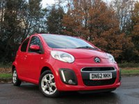 USED 2012 62 CITROEN C1 1.0 VTR PLUS 5d 67 BHP VALUE FOR MONEY STARTER CAR