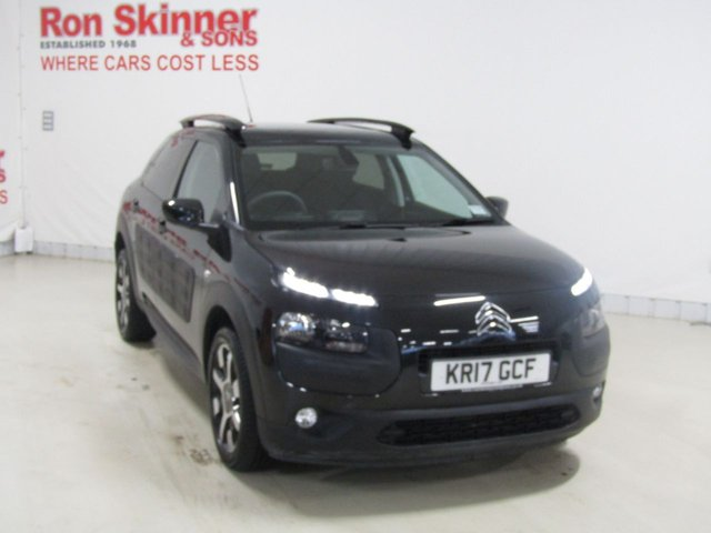 View our 2017 17 CITROEN C4 CACTUS 1.2 PURETECH FLAIR ETG S/S 5d AUTO 80 BHP