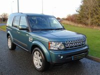 2011 LAND ROVER DISCOVERY 3.0 4 SDV6 XS 5d AUTO 245 BHP £14990.00