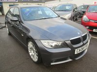 2008 BMW 3 SERIES 2.0 AUTOMATIC 320I EDITION M SPORT 4d 168 BHP £5895.00