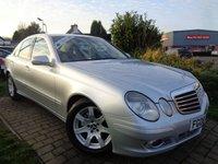 2008 MERCEDES-BENZ E CLASS 2.1 E220 CDI EXECUTIVE 4d AUTO 170 BHP £3689.00