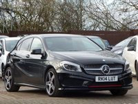USED 2014 14 MERCEDES-BENZ A CLASS 2.0 A250 BLUEEFFICIENCY ENGINEERED BY AMG 5d AUTO 211 BHP