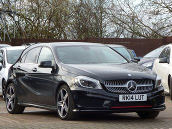 2014 MERCEDES-BENZ A CLASS 2.0 A250 BLUEEFFICIENCY ENGINEERED BY AMG 5d AUTO 211 BHP £16495.00