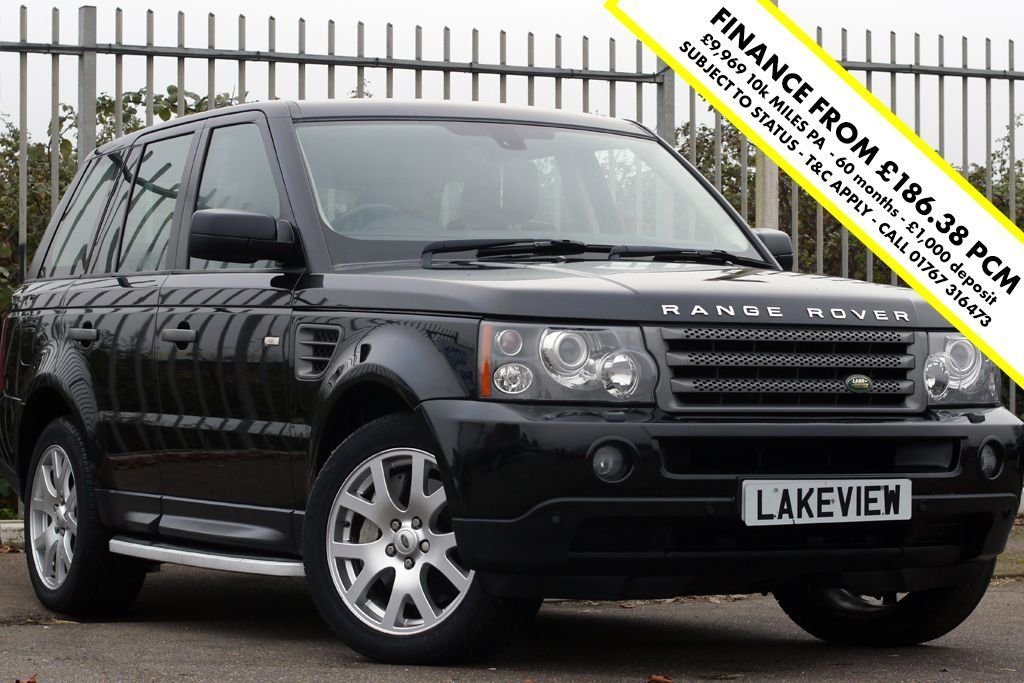 USED 2008 08 LAND ROVER RANGE ROVER SPORT 2.7 TDV6 SPORT HSE 5d AUTO 188 BHP