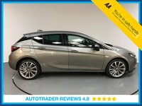 USED 2017 17 VAUXHALL ASTRA 1.6 ELITE NAV CDTI 5d AUTO 134 BHP SERVICE HISTORY - 1 OWNER - SAT NAV - LEATHER - BLUETOOTH - AIR CON - DAB - CRUISE - AUX / USB