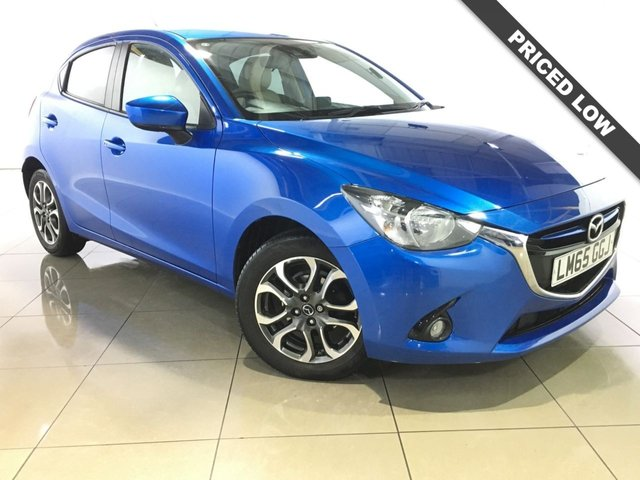 View our 2015 65 MAZDA 2 1.5 SPORT NAV 5d 89 BHP