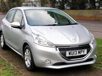 USED 2013 13 PEUGEOT 208 1.0 VTI ACTIVE 5DR