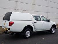USED 2012 62 MITSUBISHI L200 2.5 DI-D 4X4 4WORK LB DCB 1d 134 BHP
